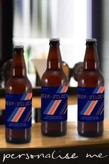 Personalised HotchPotch Beer O'clock Set Of 3 Beers by Signature Gifts
