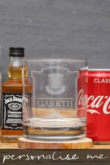 Personalised Gentlemans JD Gift Set  by Signature Gifts