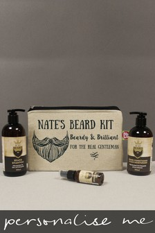 Personalised Beard Kit  by Signature Gifts