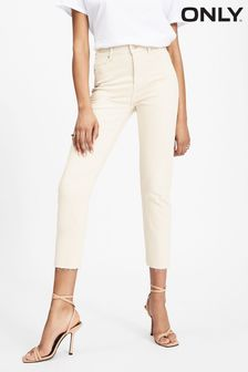 Only High Waist Mom Jeans