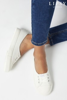 Lipsy Lace Up Pump Trainer