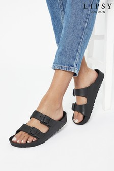 Lipsy Double Strap Footbed Sandal