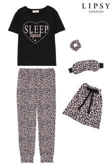 Lipsy Long Leg Pjyama Sleepover Set