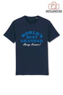 Instajunction World's Best Grandad Father's Day Men's T-Shirt