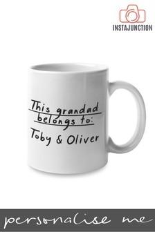 Personalised This Grandad Belongs To Mug by Instajunction