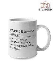 Instajunction Father Dictionary Description Mug