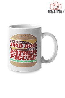 Instajunction Dad Bod Father Figure Burger Mug