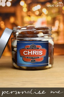 Personalised Pint Pots Sweet Jar - Small by Great Gifts