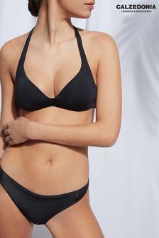 Calzedonia Indonesia Black Eco Fibre Triangle Bikini Top