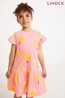 Lindex Kids Frill Sleeve Printed Dress