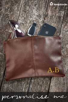 Personalised Accessory Pouch by Loveabode