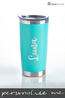 Personalised Travel Mug by Loveabode