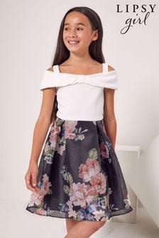 Lipsy Bow Detail Skater Dress