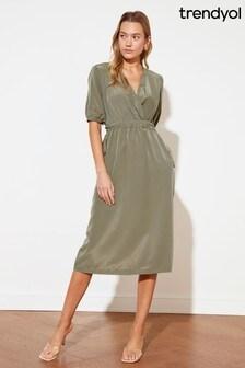 Trendyol Midi Wrap Dress