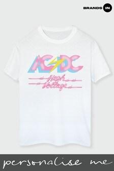 ACDC Electric High Voltage Boyfriend Fit T-Shirt