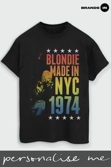 Blondie Rainbow NYC Boyfriend Fit T-Shirt