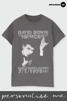 David Bowie Heroes Earls Court Boyfriend Fit T-Shirt
