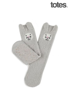 Totes 1PP Ladies Novelty Eco Super Soft Socks