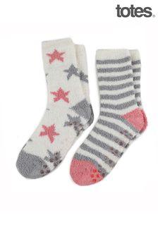 Totes 2PP Ladies Eco Super Soft Socks