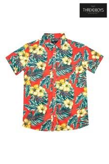 Threadboys Kenderick Printed Short Sleeve Shirt