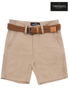 Threadboys Kale Belted Chino Shorts