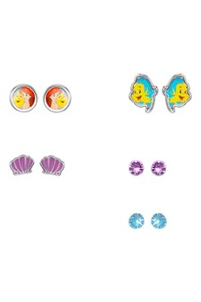 Peers Hardy Disney Little Mermaid Multicoloured enamel Costume Earring Set