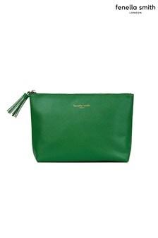 Fenella Smith Green Tassel Washbag