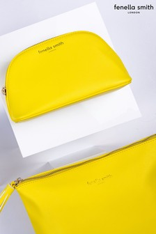 Fenella Smith Yellow Tassel Washbag