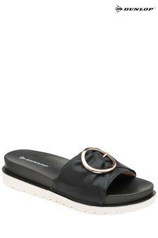 Dunlop Ladies Slip-On Mule Sandals