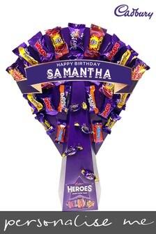 Personalised Cadbury Heroes Bouquet by Yoodoo