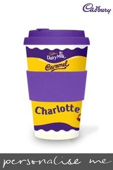 Personalised Cadbury Dairy Milk Caramel Ecoffee Cup by Yoodoo