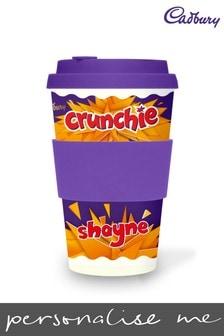 Personalised Cadbury Crunchie Ecoffee Cup by Yoodoo