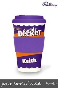 Personalised Cadbury Double Decker Ecoffee Cup by Yoodoo