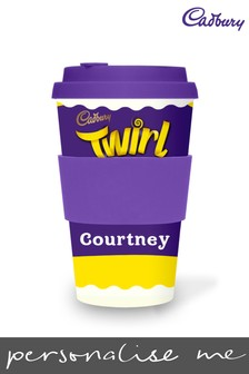 Personalised Cadbury Twirl Ecoffee Cup by Yoodoo