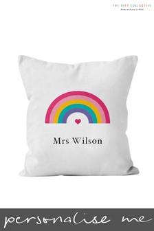 Personalised Teacher Cushion by The Gift Collective