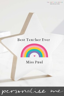 Personalised Teacher Star by The Gift Collective