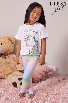 Lipsy Mini Short Sleeve Legging Pyjama Set