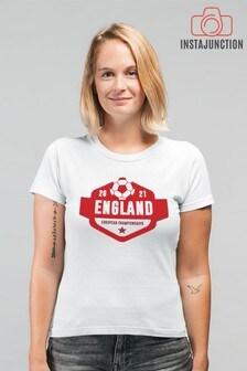 Instajunction England Football Euros Supporter Women's T-Shirt