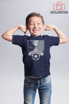 Instajunction England Football Championship Euros Supporter Trophy Kid's T-Shirt