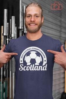 Instajunction Scotland Football Championship Euros Supporter Men's T-Shirt
