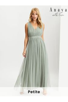 Anaya With Love Bow Back Wide Strap Maxi Dress