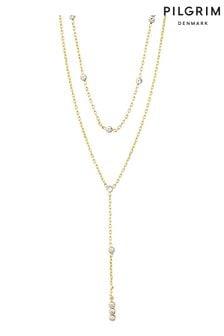 PILGRIM Layered Kamari Necklace