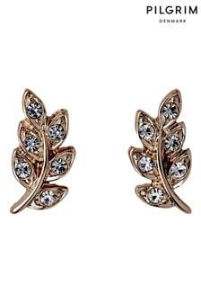 PILGRIM Leaf Imogen Earrings