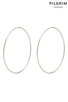 PILGRIM Hoop 60 mm Sanne Earrings