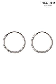PILGRIM Hoop 12 mm Sanne Earrings
