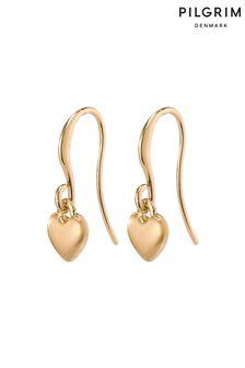 Pilgrim Tiny Heart Sophia Earrings