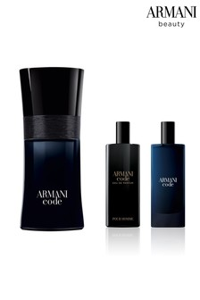 Armani Beauty Code EDT 50ml and Free Gift of Code EDT and EDP 15ml Duo Total (Worth Over £79)