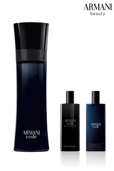 Armani Beauty Code EDT 125ml and Free Gift of Code EDT and EDP 15ml Duo (Total Worth Over £104)