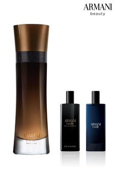 Armani Beauty Code Profumo EDP 110ml and Free Gift of Code EDT and EDP 15ml Duo (Total Worth Over £111)