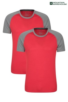 Mountain Warehouse Endurance Womens Relaxed Fit T-Shirt - Multipack